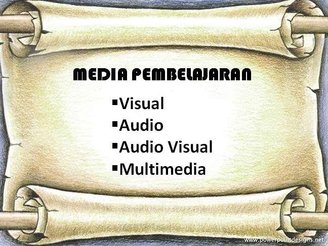 Contoh jenis-jenis media pembelajaran dan fungsinya