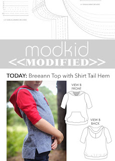Modkid Breeann with Shirt Tail Hem