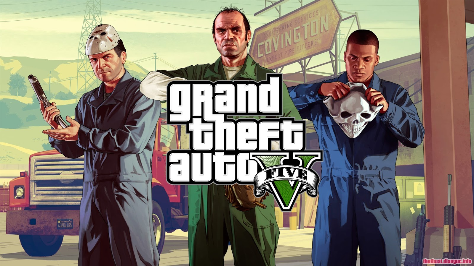 Download Grand Theft Auto V Việt Hóa Update v1.36