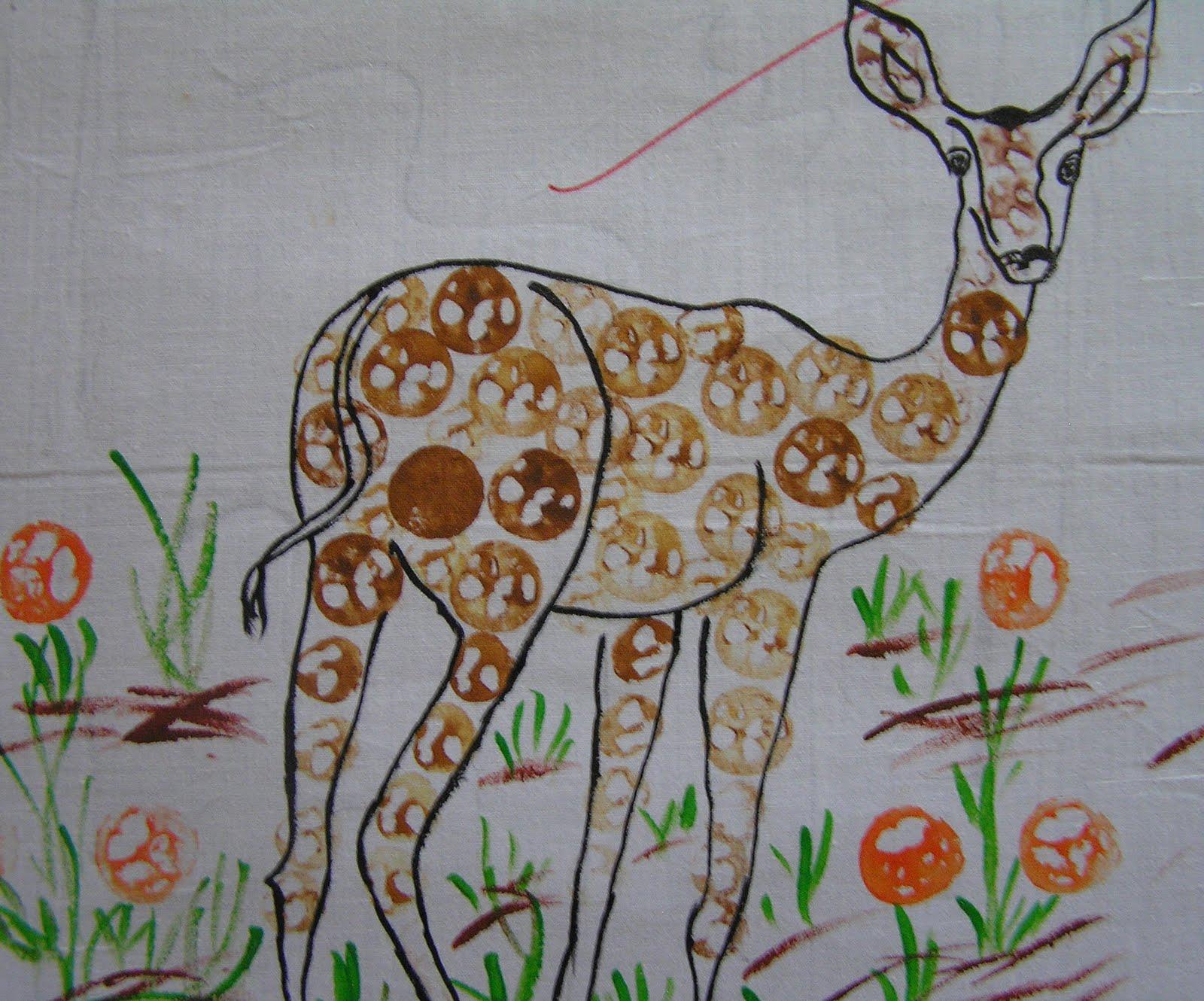 Portfolio Fabric Painting