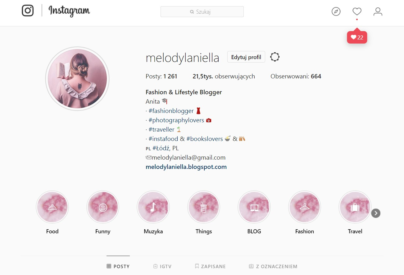 profil melodylaniella blog zdjęcia moda fashion blogerka łódź moda uroda fashion