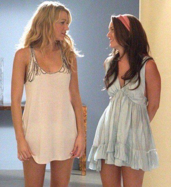 Serena e Blair em Gossip Girl