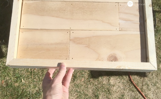 adding trim to planked art