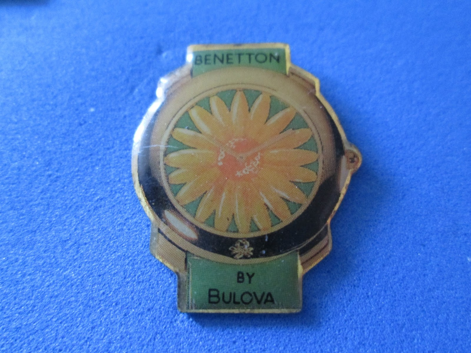 4b2625a0d92 PINS DO JOAO  Relógio Benetton by Bulova
