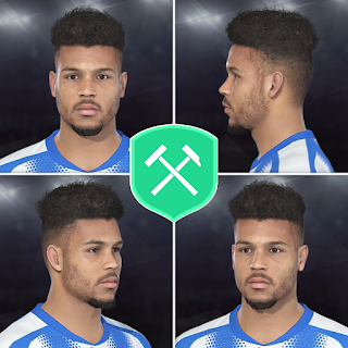 PES 2018 Faces Steve Mounié by Volun