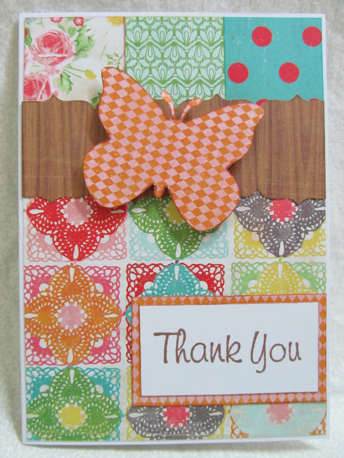 savvy handmade cards crate paper thank you card