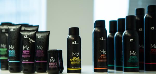 idHAIR Me hiustenmuotoilu hiustenmuotoilusarja suomalainen surffikiharat hiuspuuteri kuivapesu fiber mousse kuituvaahto edullinen kampaamotuote