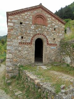 ο ναό του αγίου Χριστοφόρου στον Μυστρά