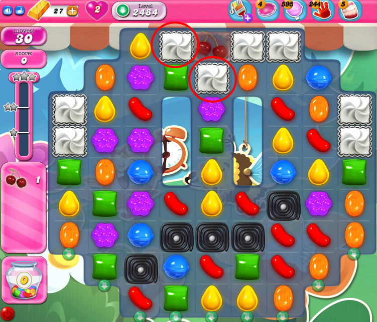 Candy Crush Saga level 2484