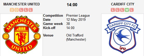 manchester united vs cardiff city live