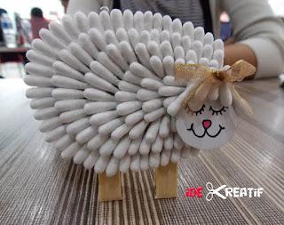 Membuat Kreasi Unik dari Cotton Bud