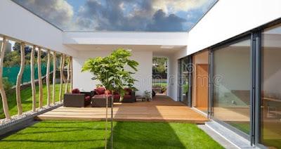 contoh teras rumah