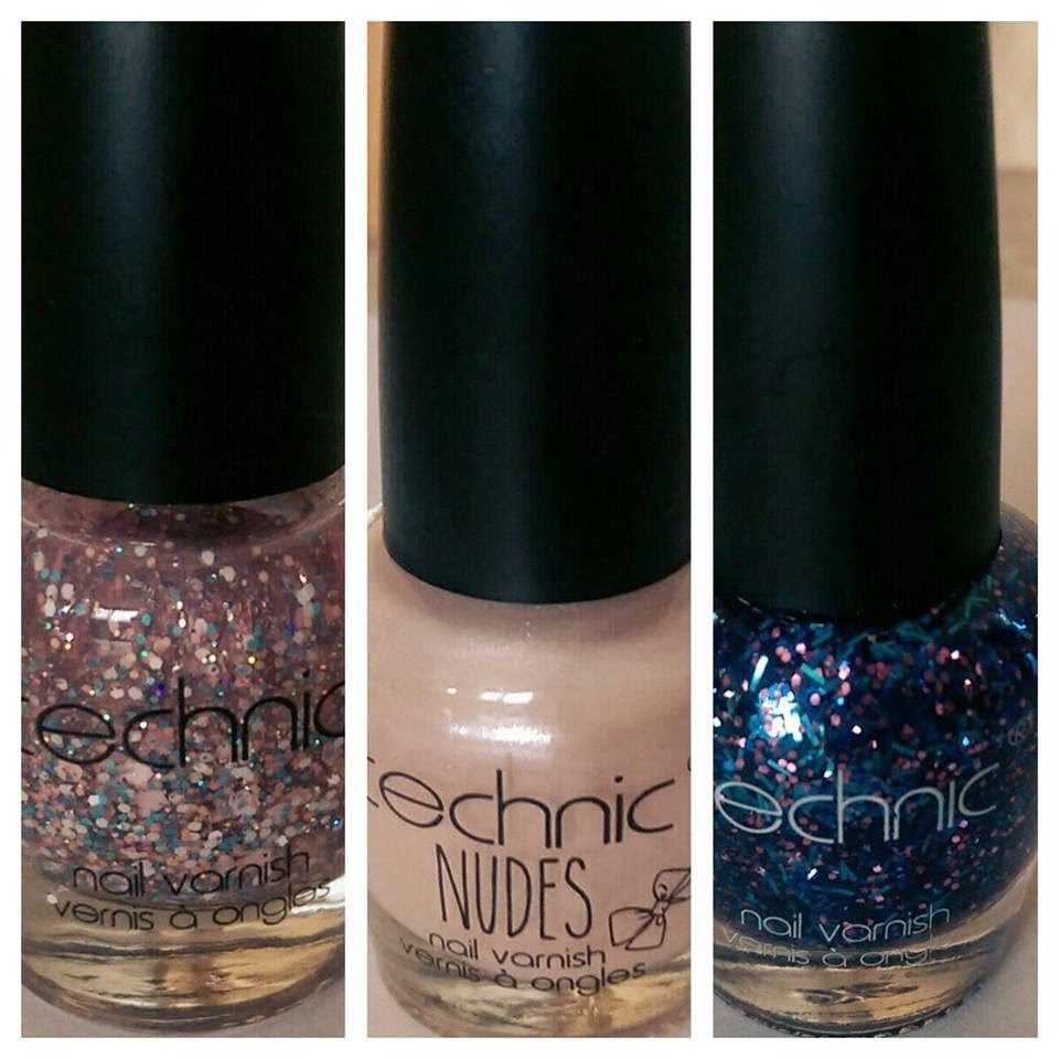 rainbows unicorns technic nail polish review january 2015