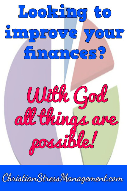 Need to improve your financial status? With God all things are possible!