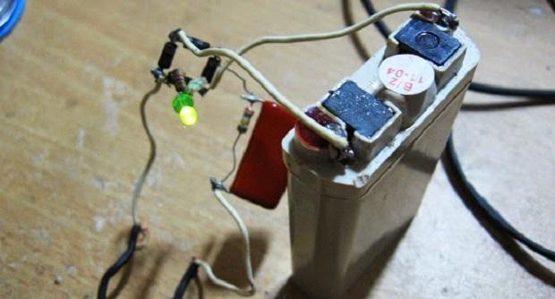 Cara Membuat Charger Sederhana Baterai 3 Volt, Tanpa Menggunakan Trafo UPDOWN