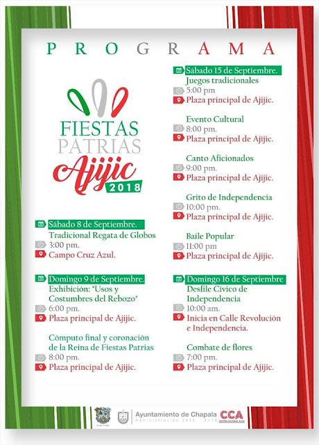 programa fiestas patrias ajijic 2018