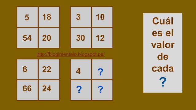 Acertijos numéricos
