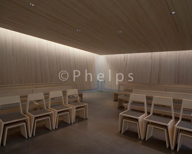 Kirche Rif - Arch. Paul Schweizer und Arch. Klaszkleeberger - Foto Andrew Phelps