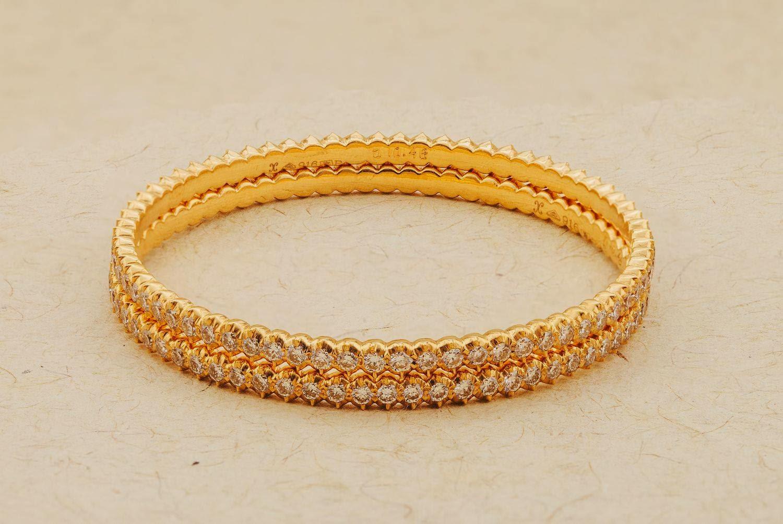 Diamond Bangle - Jewellery Designs