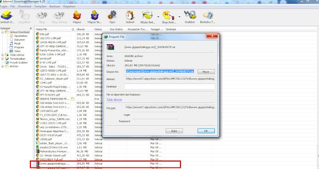 Bukti Download IDM Berhasil Tanpa Mulai dari Awal