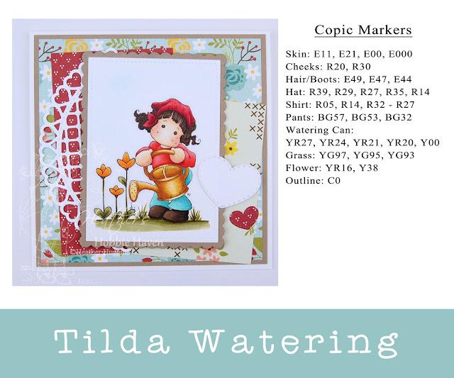 Heather's Hobbie Haven - Tilda Watering Card Kit