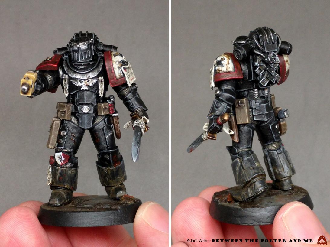 Black Templar Paint Scheme