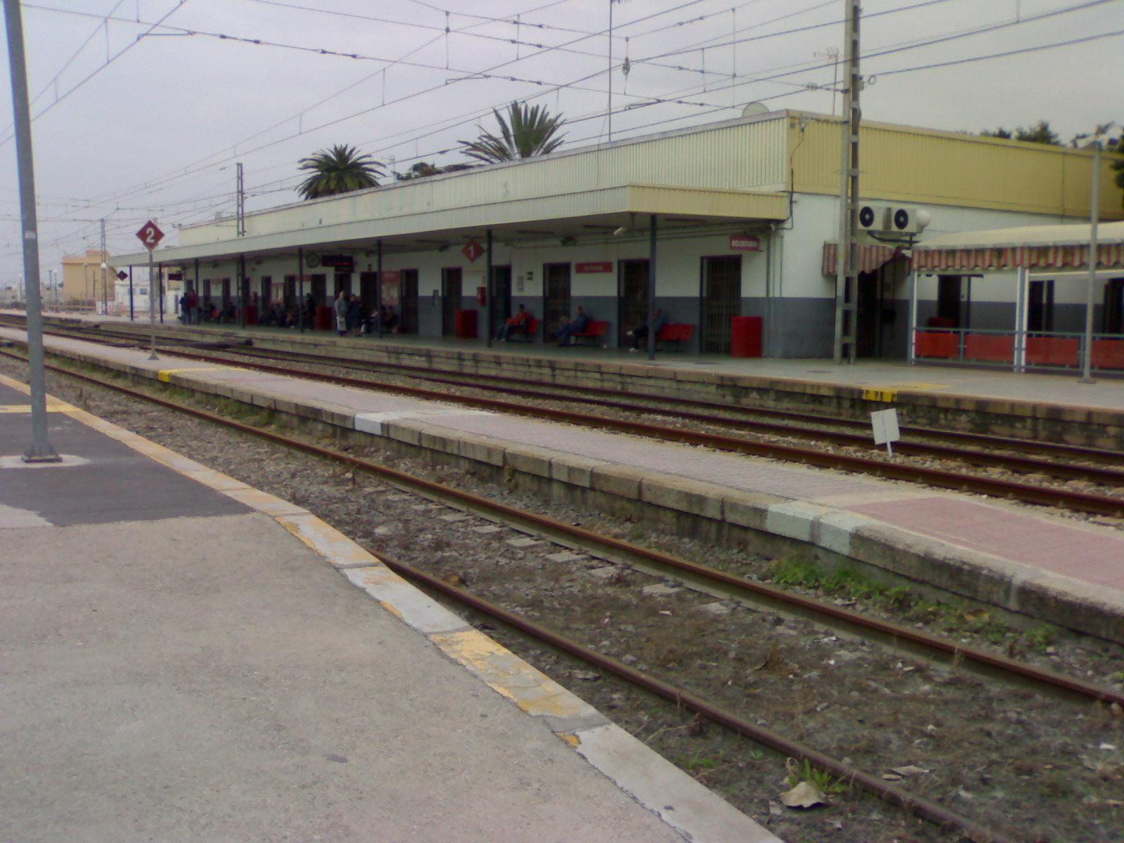 San fernando ayer y hoy y otras historias estaci n de ferrocarril san fernando centro - Tren el puerto de santa maria madrid ...