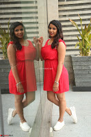 Shravya Reddy in Short Tight Red Dress Spicy Pics ~  Exclusive Pics 036.JPG