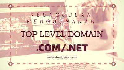 keunggulan domain dotcom