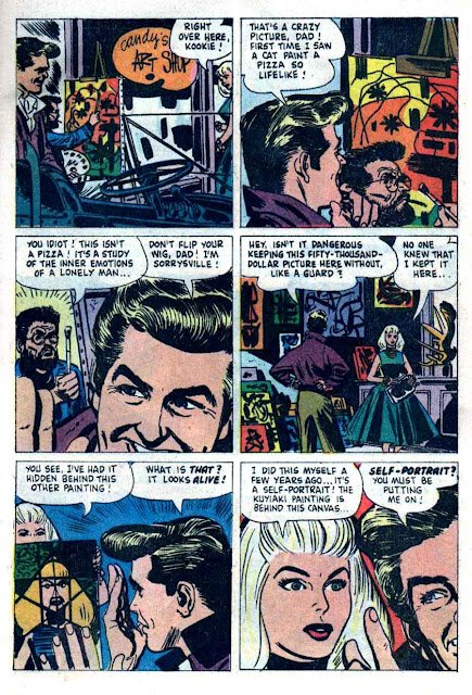 77 Sunset Strip / Four Color Comics #1066 dell tv 1960s silver age comic book page art by Alex Toth