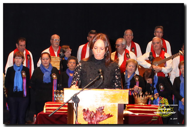 Presentación del acto por Dª. Valme J. Caballero Holgado