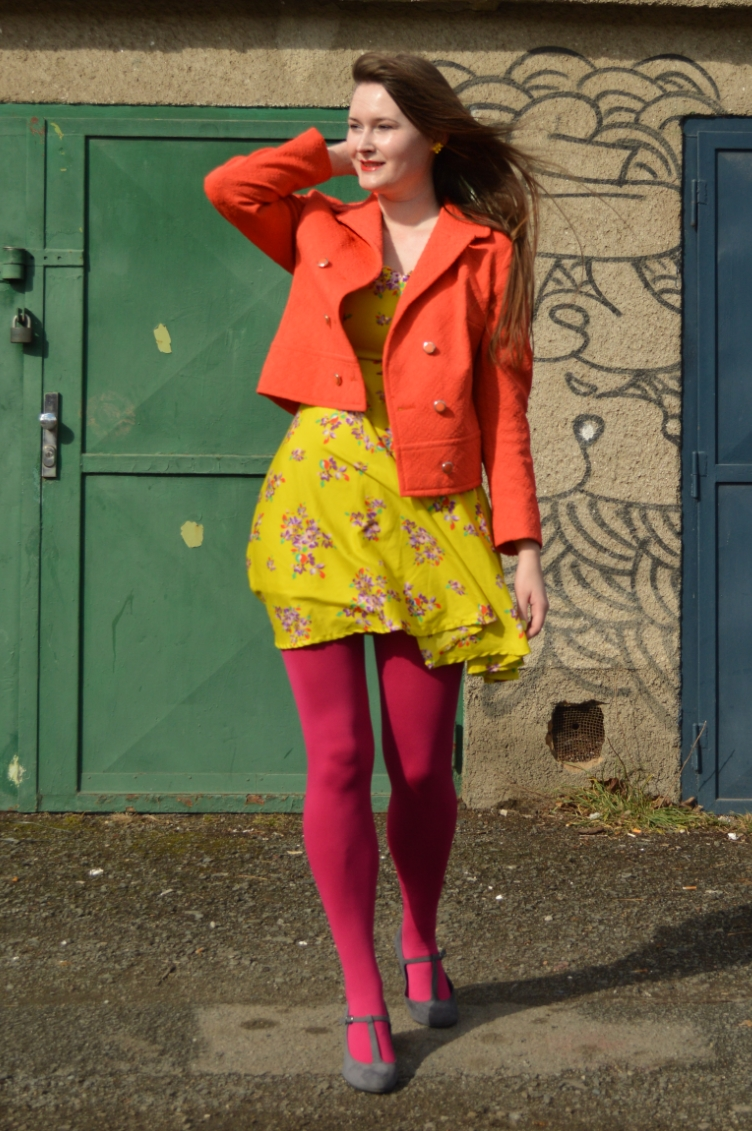 spring colour blocking, outfit, ootd, lookbook, georgiana quaint
