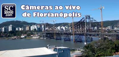 Câmera ao vivo da Ponte Hercílio Luz