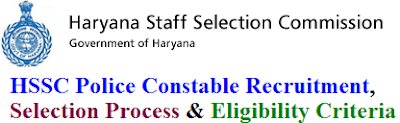 HSSC Police Constable Recruitment 2017 Eligibility & Apply Online for hssc.gov.in