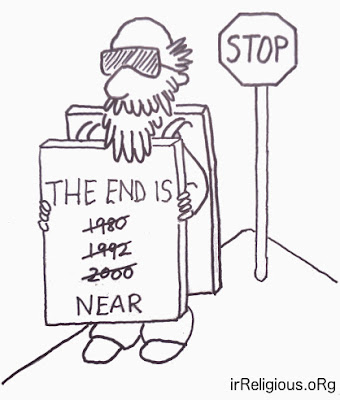 Funny The End Is Near Cartoon Picture