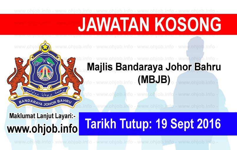 Jawatan Kerja Kosong Majlis Perbandaran Johor Baharu (MPJB) logo www.ohjob.info september 2016
