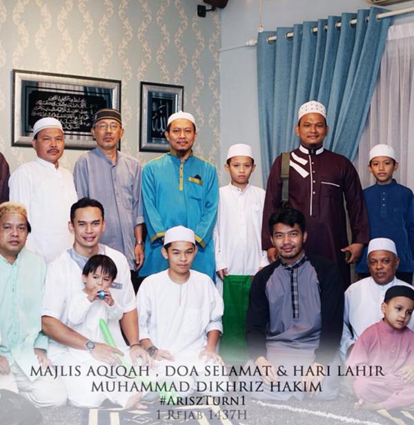 MERIAHNYA...Gambar Sekitar Majlis Aqiqah Dan Majlis Hari Jadi Anak Norman Hakim Dan Memey Suhaiza