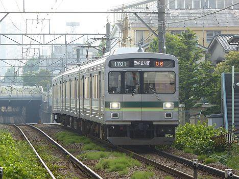 東京急行電鉄池上線 雪が谷大塚行き4 1500系(2014.5改造)