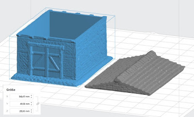 Warehouse resin printed/casted (15mm scale, 10 EUR) picture 1