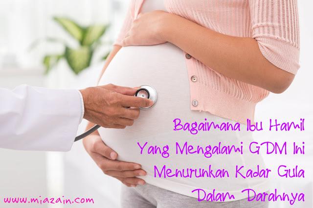 atasi kencing manis ketika hamil