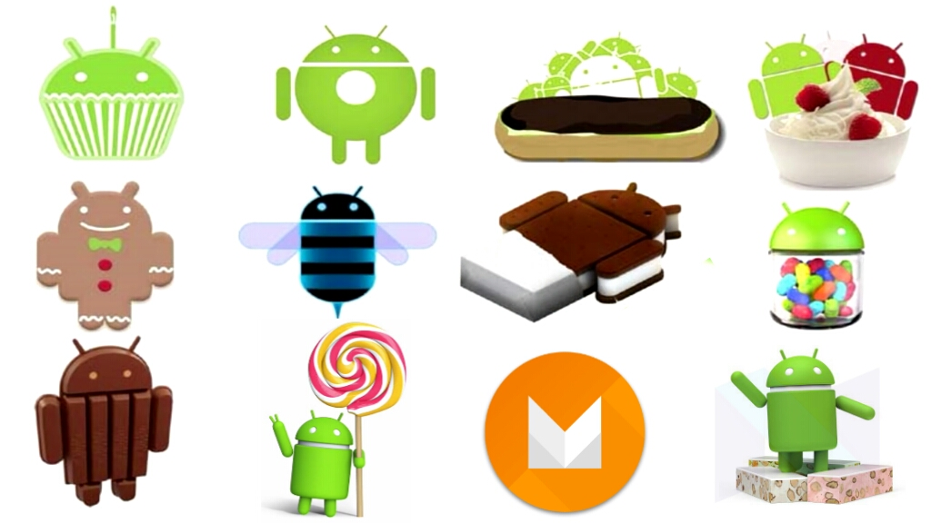 list of android os and features