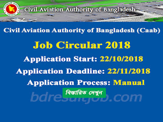 Civil Aviation Authority of Bangladesh Job Circular 2018