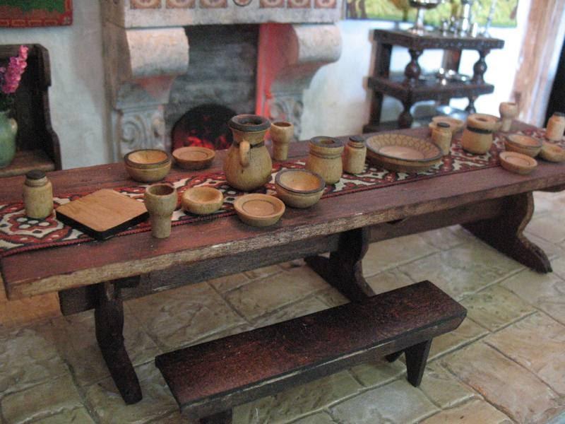 Medieval Bride Tableware