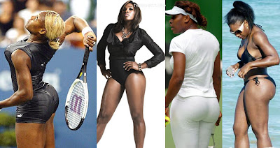 Serena Williams with Sexy & Rounded Butt