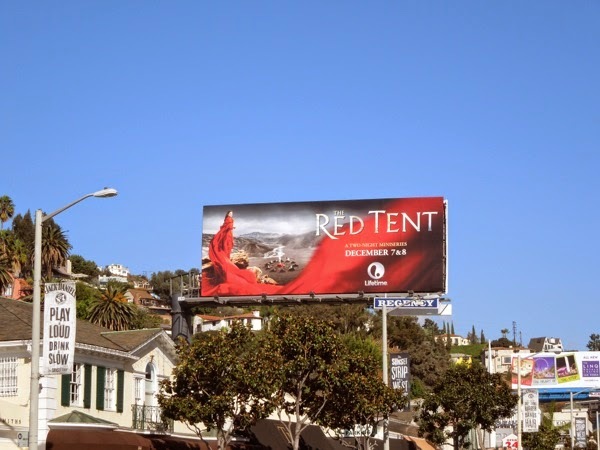 Red Tent miniseries billboard