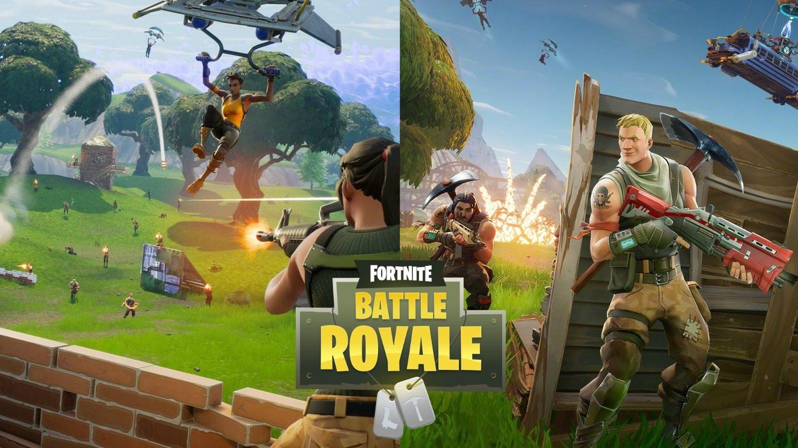 تحميل لعبة fortnite battle royale للكمبيوتر من ميديا فاير