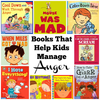 Books that help kids manage anger.