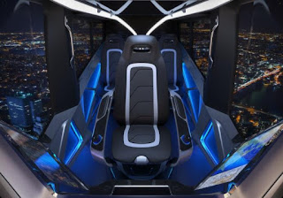 'Carro voador' de parceira da Uber tem motor híbrido e pode levar até 5 pessoas