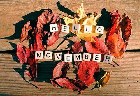tạm biệt tháng 10 chào tháng 11 nhé