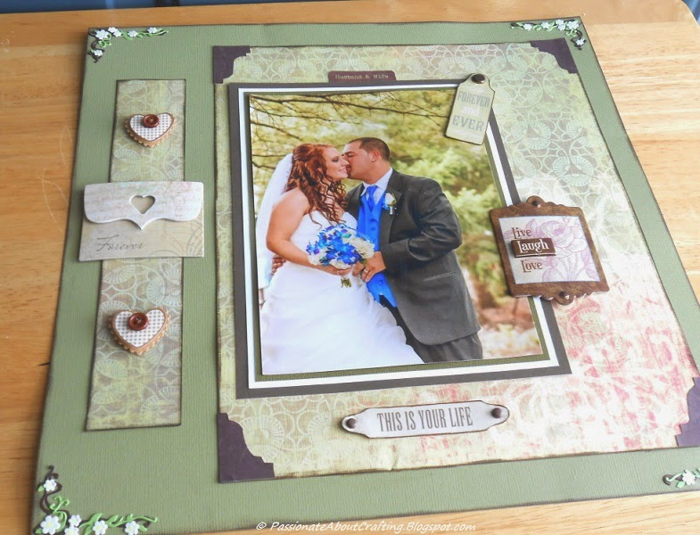 Passionate About Crafting : Rustic Wedding Scrapbooking